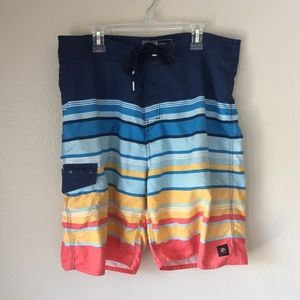 Red Yellow Blue Boardshorts